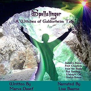 Spellslinger audiobook cover art