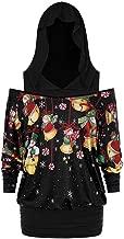 Respctful✿Fashion Womens Merry Christmas Women Hoodies Casual Printed Tops Long Sleeve Streetwear Hooded