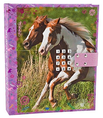 Unbekannt Horses Dreams 4422 - Tagebuch mit Code und Sound Motiv 1