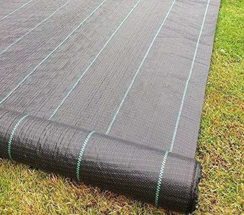 Jardin Mile 2m x 50m Tissu anti mauvaises herbes Ultra résistant de membrane paillis sol Jardin Allée Paysage Tissu + + + + + 50sans pinces à linge