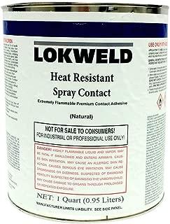 Lokweld Heat Resistant Contact Adhesive - 1 Quart