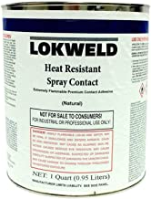 Lokweld Heat Resistant Contact Adhesive - 1 Quart