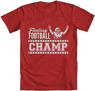 GEEK TEEZ Fantasy Football Champ Youth Boys` T-Shirt
