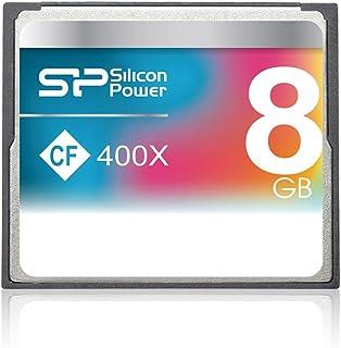 シリコンパワー コンパクトフラッシュカード 8GB 400倍速 CF 400X 永久保証 SP008GBCFC400V10