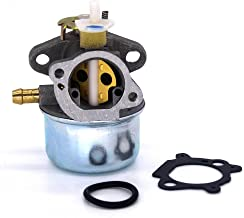 FitBest Carburetor Carb for Briggs & Stratton 499059 497586 w/ Gasket and Choke