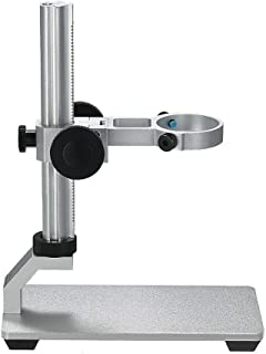 Jiusion Aluminium Alloy Universal Adjustable Professional Base Stand Holder Desktop Support Bracket for Max 1.4