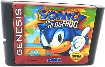Royal Retro Sonic pour console de jeux vidéo 16 bits Sega Genesis et Mega Drive (noir)