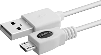 Micro USB Cable, Insten 3 Ft Micro USB Charging Cable Replacement, High Speed Data Transfer Compatible With Android Samsung Galaxy S5, HTC, Nokia Lumia, Kindle Touch 2011, Fire 1st Gen, Keyboard