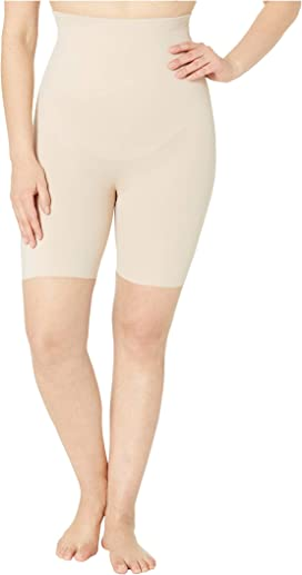 7aa4893e8a4 Plus Size Extra Firm Control High-Waist Thigh Slimmer. Miraclesuit Shapewear
