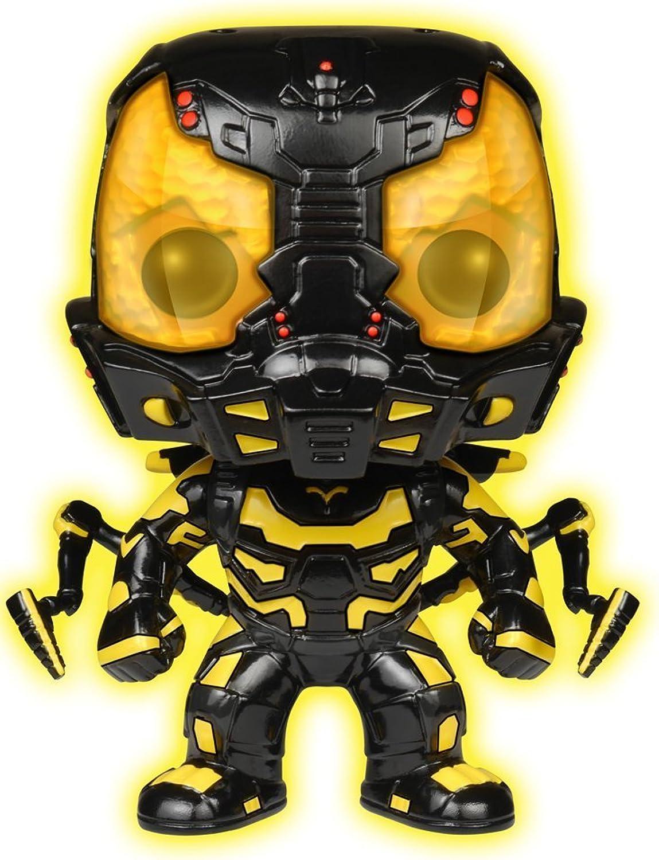 Funko POP Movies  Ant-Man Glow in The Dark Yellow Jacket Action Figure [Amazon Exclusive]