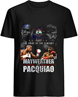 Pacquiao vs Mayweather 45 Tshirt Hoodie for Men Women Unisex