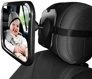 Baby Car Rear View Mirror Baby Car Backseat Mirror 360 Degree Adjustable Rear View Facing Back Seat Mirror