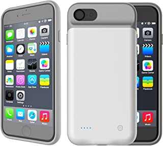 a24987adf7d Funda Batería iPhone 7 Plus / iPhone 8 Plus, Scheam Estuche Recargable  4000mAh Cargador Ultra