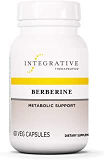 Integrative Therapeutics Berberine 500mg - Metabolism of Blood Sugar Support Supplements - HCL - Vegan - 60 Capsules