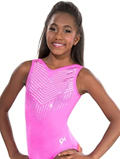 GK Gymnastics Leotards for Girls, Toddlers & Women Pink Diamonds One Piece Athletic, Dance & Ballet Leotard | Kids Costumes & Dancewear Apparel
