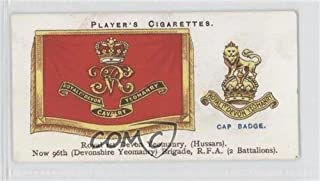 Royal 1st Devon Yeomanry COMC REVIEWED Good to VG-EX (Trading Card) 1924 Player's Drum Banners & Cap Badges - Tobacco [Base] #41