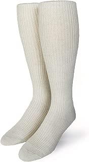 Old Fashioned Baby Alpaca Wool Tube Socks for Men or Women