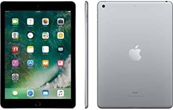 Apple iPad 9.7 with WiFi, 128GB- Space Gray (2017 Model) - (Renewed)