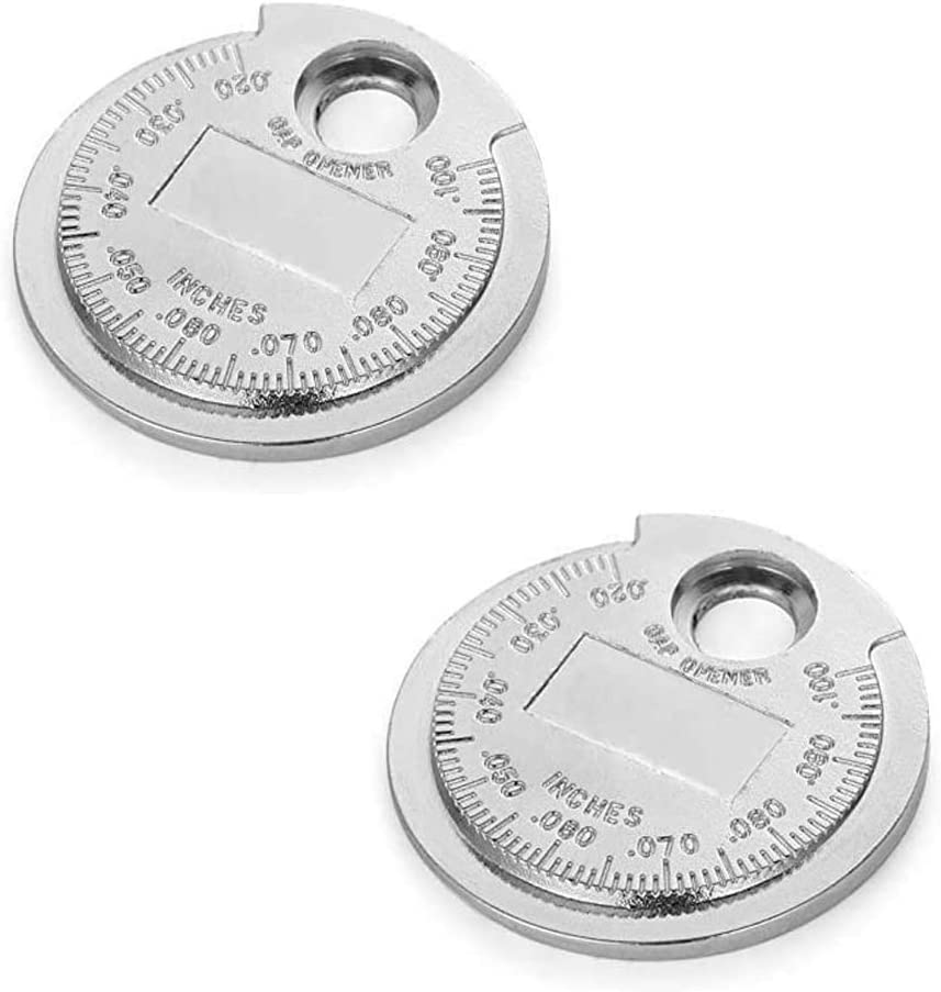 2 Pack Today's only Spark Plug Gap Tool Gapper Wire gap Gauge- Oakland Mall plug mea