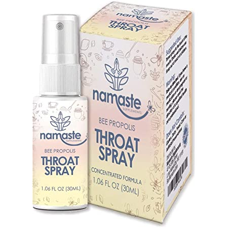 Bee Propolis Throat Spray - 99% Bee Propolis Extract - Natural Immunity Boosting Spray for Children and Adults - Works for Cold, Cold Sore, Flu, Coughs, Sore Throats, Runny Nose (1 Pack, Bee Propolis)