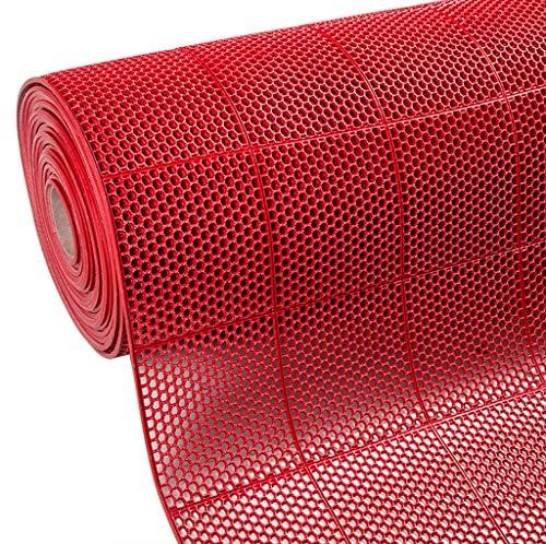 STTHOME Tapis de Bain Antiderapant Tapis de Bain PVC Tapis en Plastique Eau Creuse Salle de Bains Salle de Douche Douche Toilette Tapis de Cuisine Tampon à Huile (Color : #3, Size : 90cm*1m)