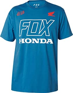 Fox Racing Honda T-Shirt-Dusty Blue-L