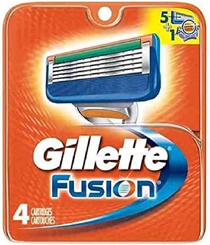 new arrival Gillette discount sale Fusion Blades 4 Cartridges outlet sale
