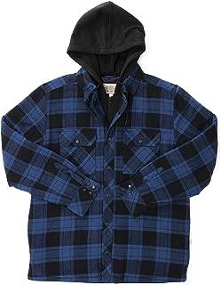 Men's Hooded Shirt Jacket