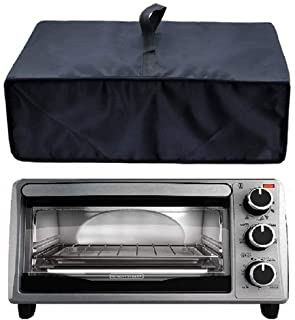 Heavy Duty Heat-Resistant Waterproof Dust-Proof Cover for Black 4-Slice Toaster Oven TO1303SB/TO1313SBD /Proctor Silex 311...
