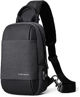 Sling Bag Small Backpack Crossbody Bags Shoulder Chest Pack Man Bag and Purse Messenger Bags for Men