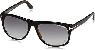 Tom Ford Olivier Square Sunglasses for Men - Purple Lens, FT0236-05B