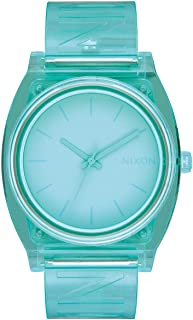 Nixon A119-3145 Time Teller P Women's Watch Mint 40mm Stainless Steel