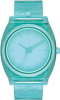 Nixon A119-3145 Time Teller P Women's Watch Mint 40mm Stainless Steel