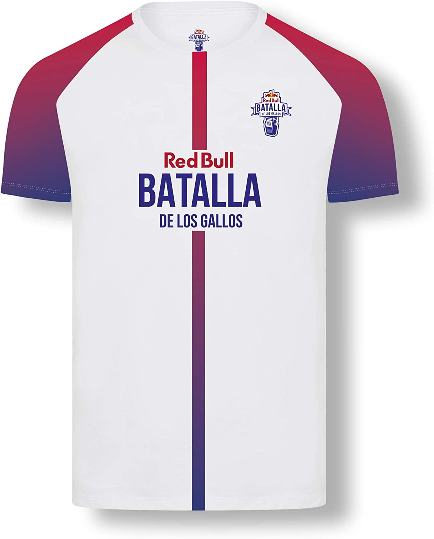 Red Bull Batalla Final Internacional Camiseta, Blanco Hombres Medium Camiseta Manga Corta, Batalla de los Gallos Hip Hop Freestyle Original Ropa & ...