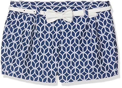 Tutto Piccolo 4648S18 Pantalones, Bebé-Niñas, Azul (Navy Blue B07), 92 (Tamaño del Fabricante:24.M)