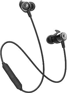 【進化版 Bluetooth 5.0 IPX5防水】Bluetooth イヤホン 高音質 Tuddrom ブルートゥース CVC6.0ノイズキャンセリング マグネット搭載 10時間連続再生 マイク付き ハンズフリー通話 [メーカー1年保証] ステレオ ワイヤレスイヤホン Bluetooth ヘッドホン iPhone &Android 対応