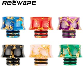 Satelliter 510 Drip Tip, Drip Tip, Resin Drip Tip Connector for Ice Maker Coffee Mod, Random Color(6 Kit)