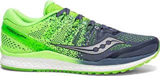 Saucony Freedom Iso 2 Men's Running Shoes, Grey/Slime