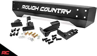 Rough Country Front Stubby Bumper Compatible w/ 1997-2006 Jeep Wrangler TJ LJ 87-95 YJ Rock Crawler Offroad 1011