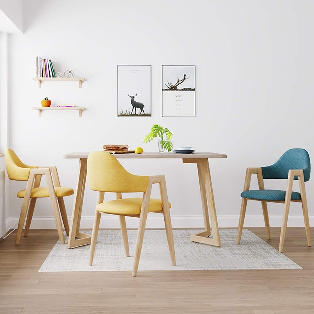 FW Table De Salle À Manger Créative, Chaise De Salon D'affaires, Chaise D'ordinateur Amovible Et Lavable, Sélection Multicolore 45 × 45 × 80cm (Color : G) G