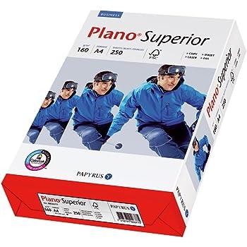 Papyrus 88026787 Drucker-/Kopierpapier Premium Planosuperior 160 g/m², A4 250 Blatt, hochweiß / Nachfolger – tecno Superior