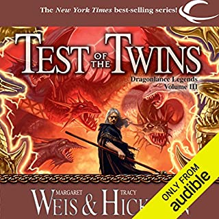 Test of the Twins audiobook cover art