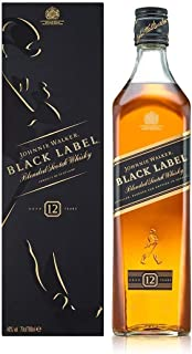 Johnnie Walker Black Label Blended Aged 12 Years Scotch Whisky 700ml