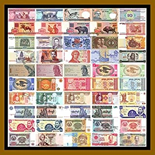 Nice1159 50 Banknotes Different Foreign,Currency, History Rare - Long time Worth Suitable for Collector