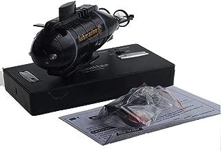 Digood Mini RC Nuclear Submarine High Speed Remote Control Drone Children's Gift (Black)