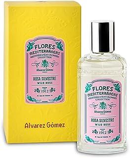 Flores Mediterráneas de Álvarez Gómez - Fragancia Rosa Silvestre - 80ml
