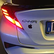 Argento, Extra Small 2 * 2,5 cm Casco. Moto Galuisi Adesivo Sticker Apple Mela Logo iPhone iOS per Auto