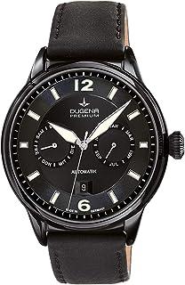 Dugena - Reloj automático para hombre, cristal de zafiro, mecanismo de 26 piedras, calendario Kappa