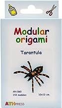 Origami Modular, Juego de 143 Piezas de Papel, tarántula pequeña, Multicolor