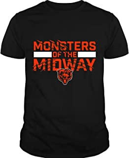 Chicago Bears NFC North T Shirt, Monsters of The Midway T Shirt